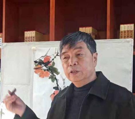 画家孙哲公益书画课在竞秀书画院开讲