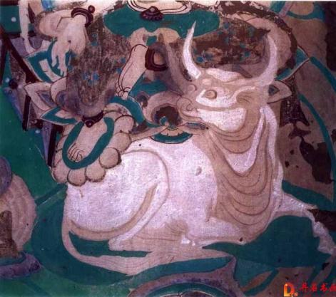 敦煌壁画中的牛耕图像