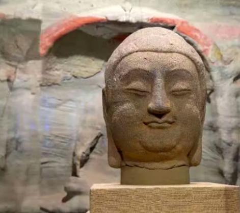 流失百年 佛首归来 天龙山石窟佛首回归仪式在山西太原举行